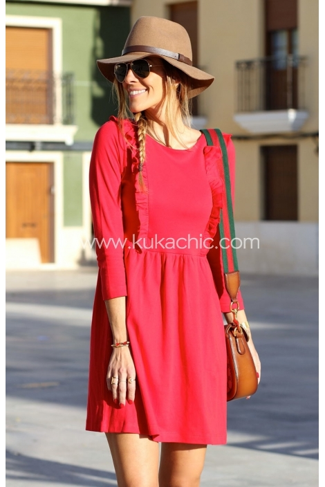 SYDNEY RED DRESS
