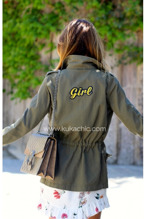 CHAQUETA ARMY GIRL