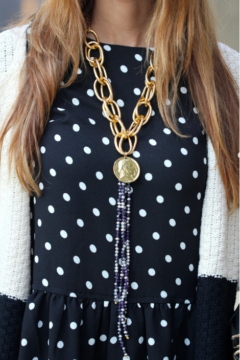 COLLAR CADENAS Y MONEDA