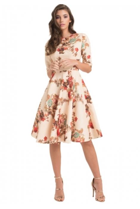 CAROLINE FLOWER DRESS
