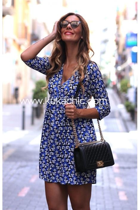 BAMBOO BLUE DRESS
