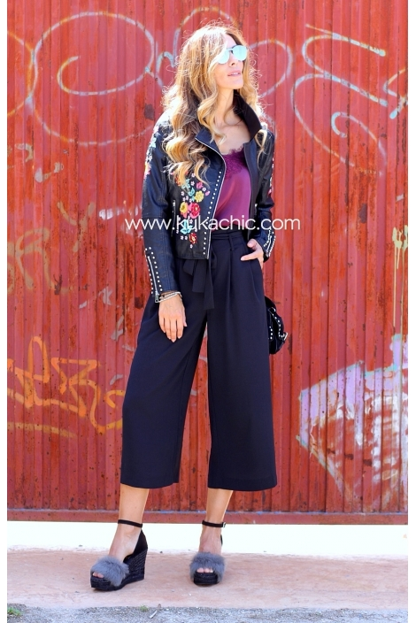 CULOTTE BLACK FIT