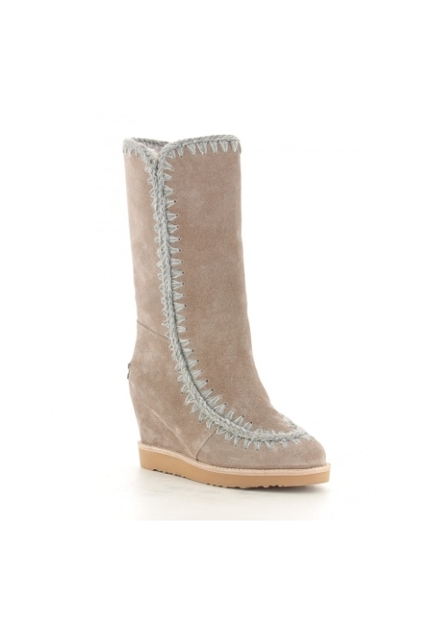 MOU ESKIMO FRENCH TOE WEDGE TALL