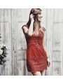 VALENTINE RED DRESS