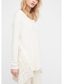 NO FRILLS PULLOVER FREE PEOPLE