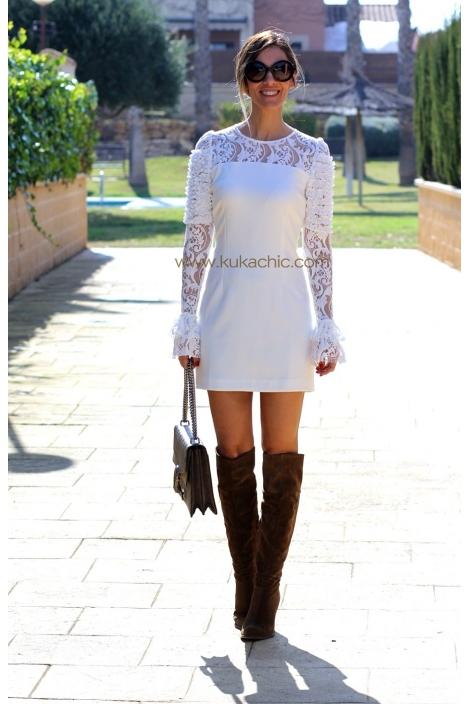 KIRA WHITE DRESS