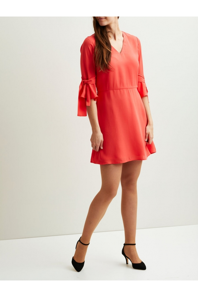 SIMMIE CORAL DRESS