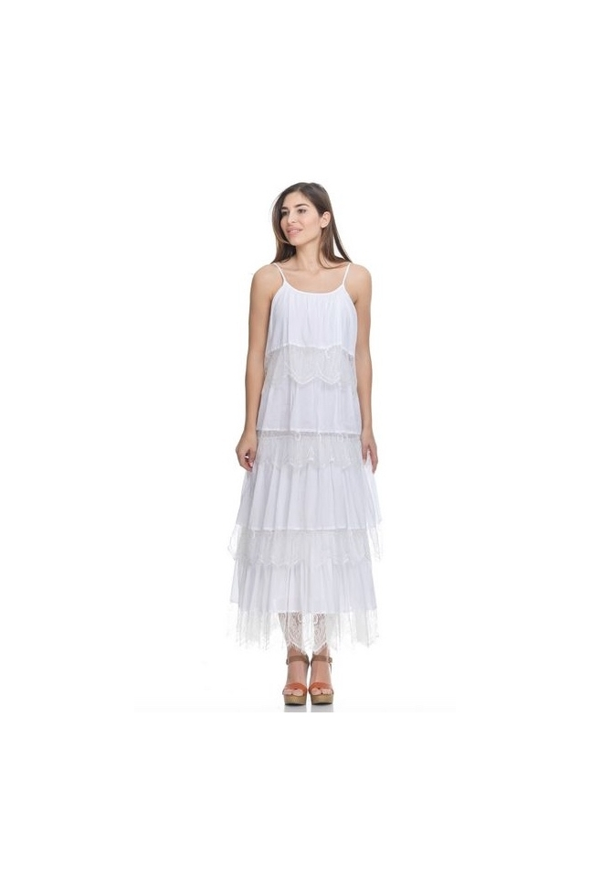 MAXI DRESS PERFECT WHITE
