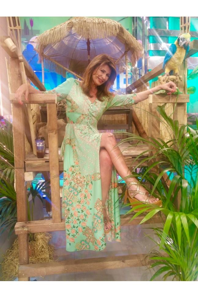 AMALFI INDIANA MAXI DRESS