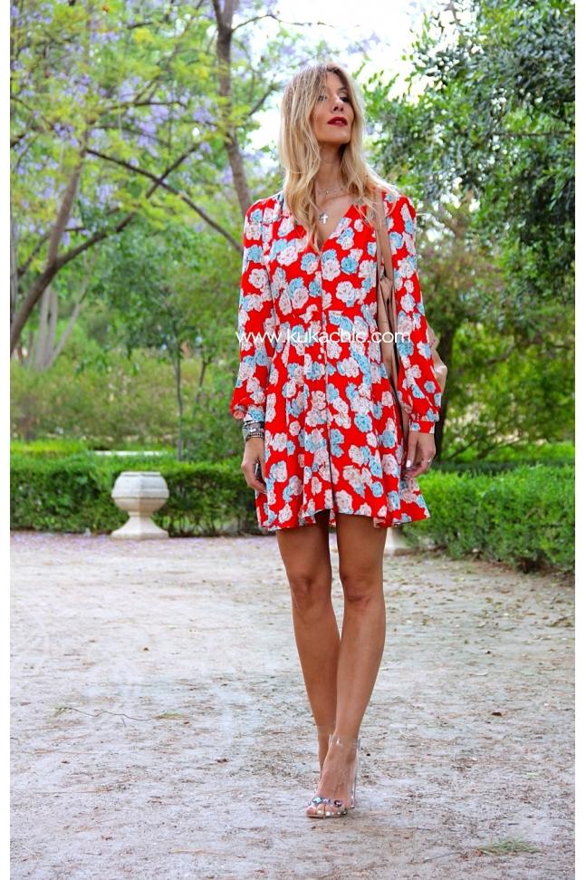 ROSES GARDEN DRESS