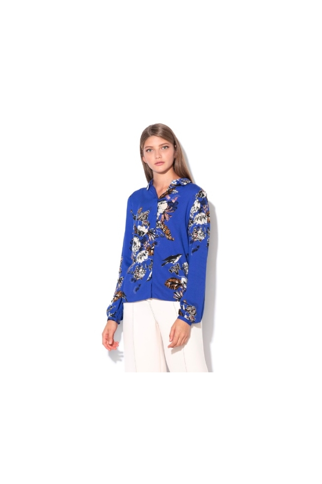 CAMISA FLORAL BLUE
