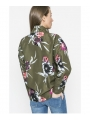 CHAQUETA BOMBER FLORAL