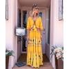 NUEVA DELHI LONG YELLOW DRESS