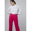 PANTALON RECTO ROSA