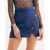 NIGHT DENIM MINI FALDA