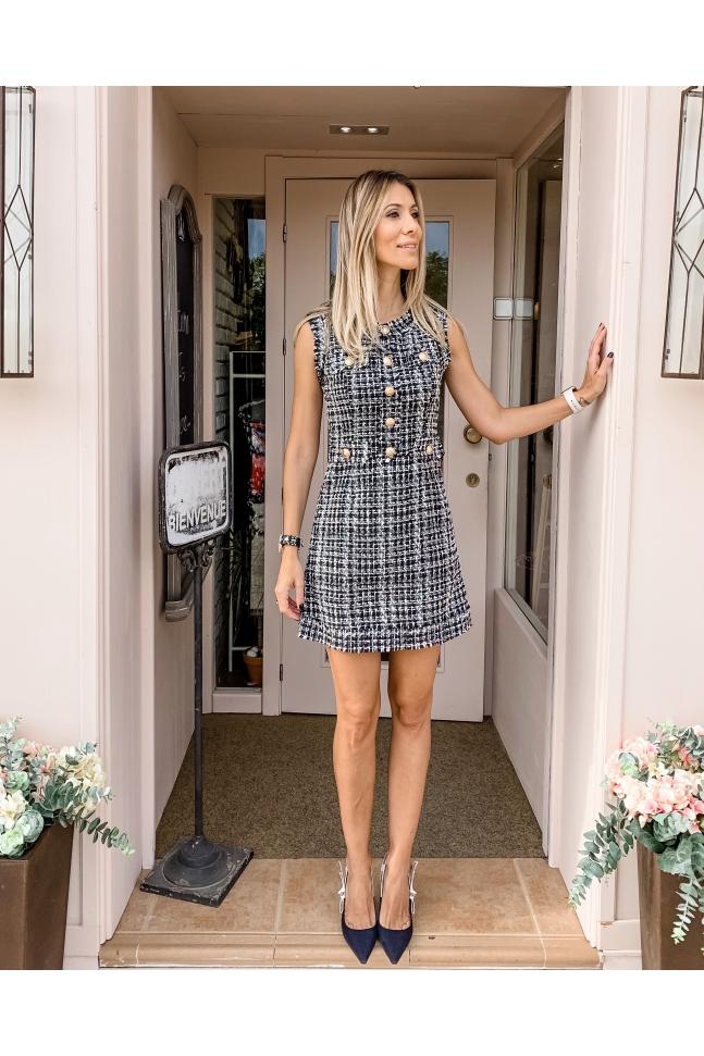 Vestido Corte Chanel
