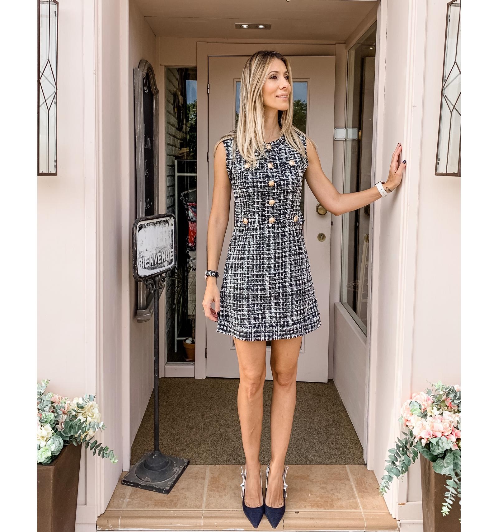 Vestido Corte Chanel Kukachic