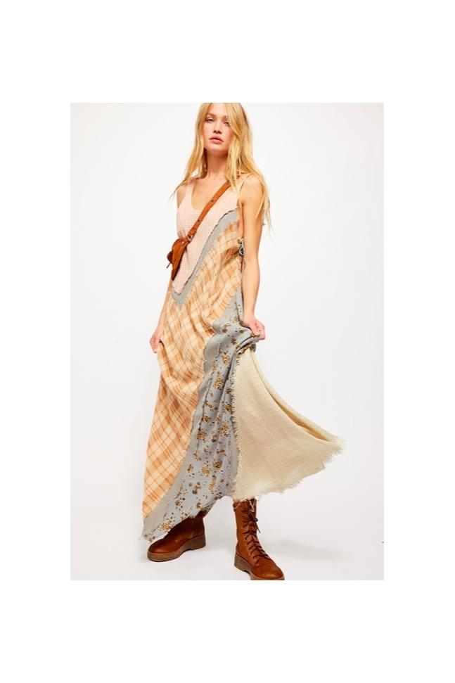 CRAFT MAXI DRESS