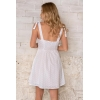NOAH WHITE MINI DRESS