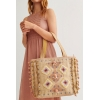 BOLSO SHOPPER BORDADO CON ASAS