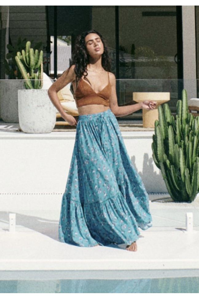 FALDA DAPHNE BLUE