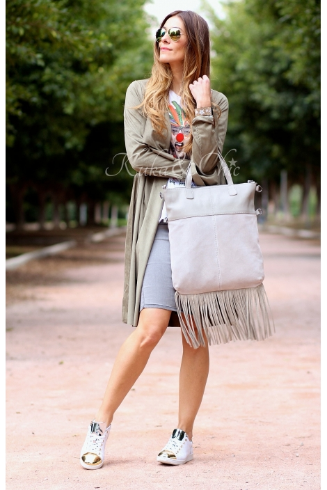 FRINGES SHOPPING BAG