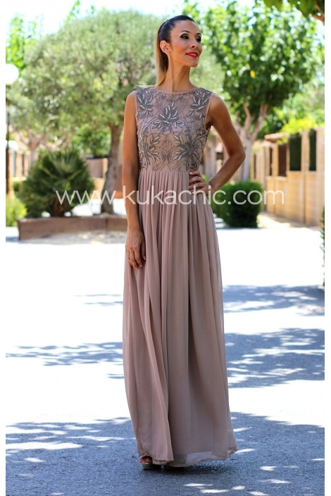 LONG DRESS CAPRI